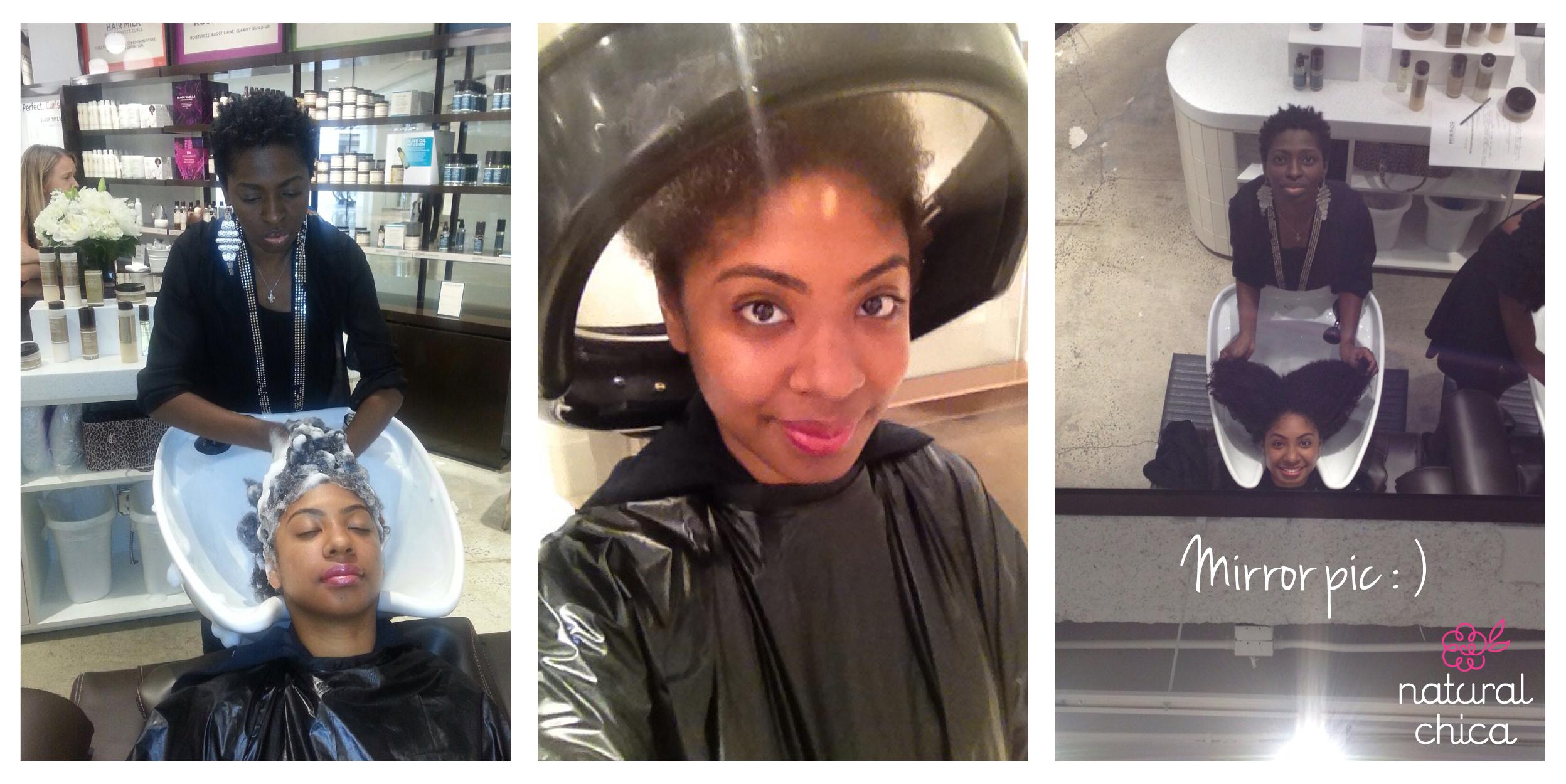 hair wash machine